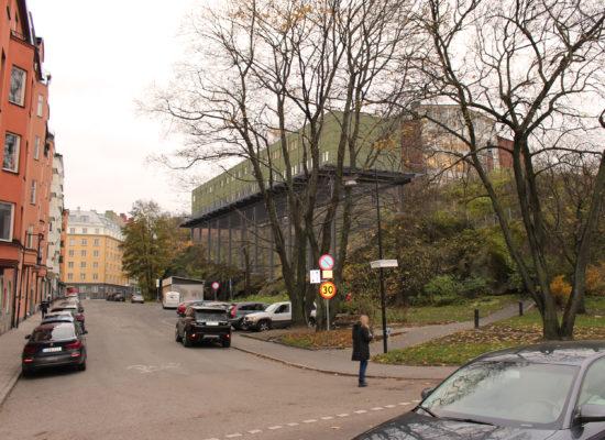 Rödabergsskolan paviljong